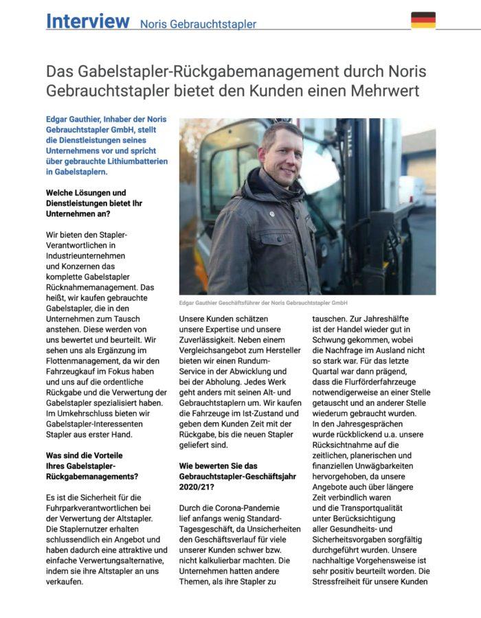 Lectura_digimessenger_ausgabe_4_20_21_Noris_Gebrauchtstapler_GmbH_S25_S26-001